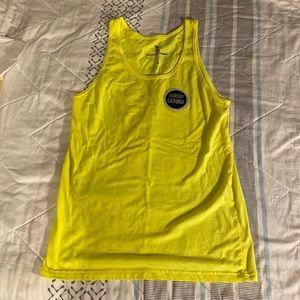 🌊 Everyday California Yellow Neon Tank 🏄🏼♀️